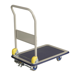 Small Steel Dolly with Foot Brake