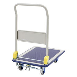 Silent Small Steel Dolly with Foot Brake
