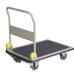 Large Steel Dolly with Foot Brake