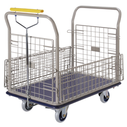 Gear Lock Type Cart Double-Sided Opening / Closing Type