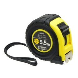 Tape Measure With Stopper And Grip 25 mm (W) 5.5 m