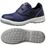 Hook & Loop Fastener Safety Shoes G3595 (Navy Blue)