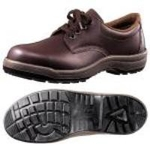 Oil Resistant And Chemical Resistant Safety Shoes CF210NT Dark Brown
