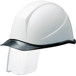 PC Helmet (Transparent Peak Type, with Sliding Visor)