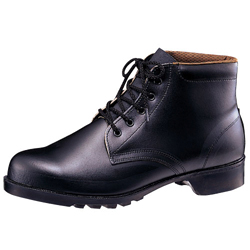 Oil/Chemical-Resistant Rubber Soled Safety Shoes, Medium-Cut Indoor Shoes V262NT