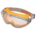 Goggles uvex X-9302 synthetic rubber, orange