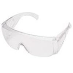 Protective Glasses, Visitor Glasses, MP-910 (non-coated), Clear