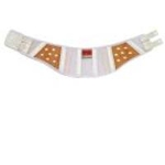 Comfortable White Waist Protection Belt DR-1L (for Women)