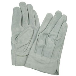 Cow Split Leather Gloves, Back Seam #302