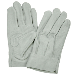 Cow Split Leather Gloves, Back Seam #506