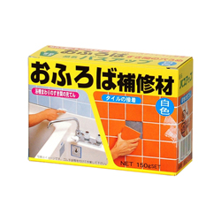 Tile Joint Repair Material, Bath Up, White BSU-2