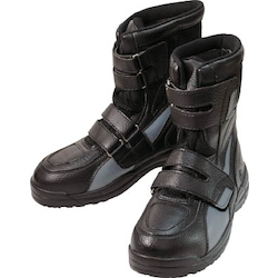 Safety boots high cut safety (Hook & Loop Fastener) black