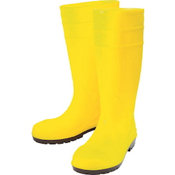 High Visibility Safety Oil Resistant Long Boots Safety Pro Hacks Yellow