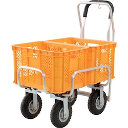 Aluminum Cart, Fixed Handle Type