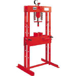Gantry type corrective hydraulic press (manual operation)