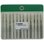 Diamond Electrodeposited Ribbing File DTYM 12-piece Set