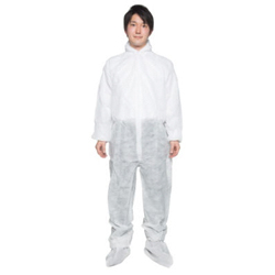 Work Clothing with Hood Overalls Type [DPFK-SB]
