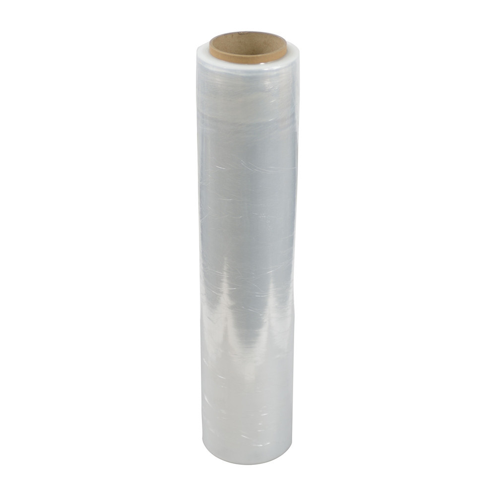 Stretch Film(Hand Roll / 8 micron / With Fold Edge)