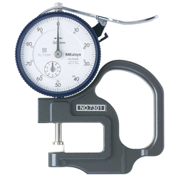7 / 547 Series Thickness Gauge, Dial Type