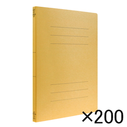 Flat File, EJ A4, Yellow, Comes with 200