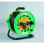 Outdoor Type Single Phase 100 V with Earthing Electric Cable Drum