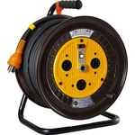 Indoor Retractable Three Phase 200 V Power Electric Cable Drum