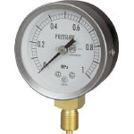 JIS General Purpose Pressure Gauge (A Frame Vertical Type / ø 60 / Straight Thread)