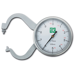 Dial Caliper Gauge, Measurement Range 0 – 15 mm
