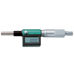 Digital Micrometer Head Measurement Range 0–25 mm