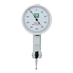 Dial Indicator Measurement Range 0 to 0.2 mm Probe Ruby