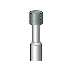 Resinoid Diamond/CBN Bur, Shaft Diameter ⌀6.0