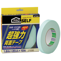 Heavy Duty Double-Sided Tape for Rough Surfaces, White