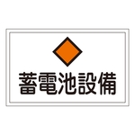 "Hazardous Area Room Sign ""Storage Battery Equipment"" FS20"