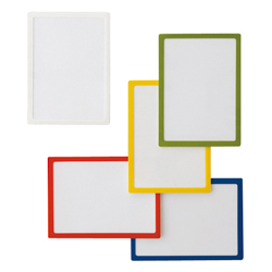 Pocket Pad, Size A4, White/Red/Blue/Yellow/Yellow-Green