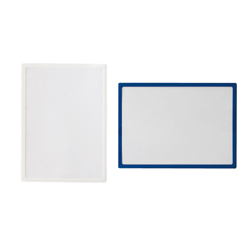 Pocket Pad, Size A3, White/Blue