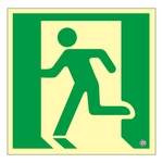 High Brightness Phosphorescent Emergency Exit Guidance Sign _3