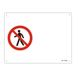 JIS Safety Mark (Prohibition / Fire Prevention) JA-121S