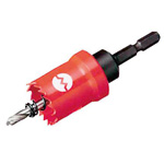 Hex shaft CL hole cutter