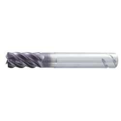 5-Flute Variable Lead-Geometry End Mill With SAFE-LOCK® Groove For Milling Titanium Alloys UVX-TI-5FL-SL