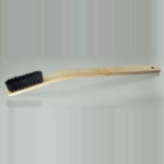Bamboo brush bent handle type