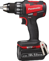 Chargeable Drill Driver, 14.4 V, 5.0 Ah (Red)
