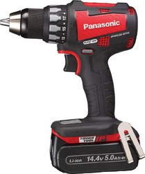 Chargeable Drill Driver, 18 V, 5.0 Ah (Red)