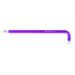 Long Hex Wrench with Ball, Purple