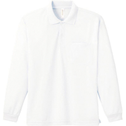 Dry Long Sleeve Polo Shirt (with Pocket)