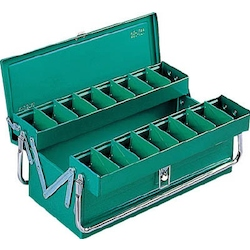 RSD Top-Class Box 2 Level Box with Tubular Handles