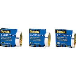 Scotch® Stickable/Removable Tape, Roll Center Diameter 76 mm (Tape Only)