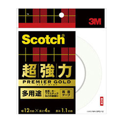 Scotch Ultra-Strong Double-Sided Tape Premium Gold Multi-Purpose