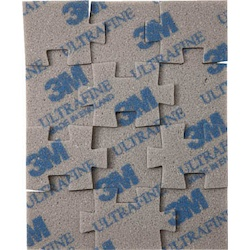 3M Jigsaw Puzzle Type Sponge Abrasive (Individually-Packed)