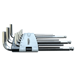 Stainless Steel Ballpoint Hex Bar Wrench Set