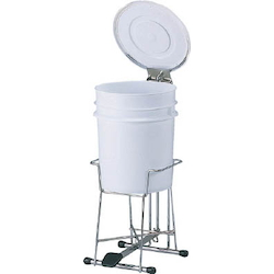 Infectious Waste Treatment Container with Medical Pail Stand